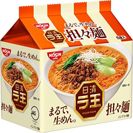 Nissin - Raoh Japanese Instant Ramen Dandan Noodles 17.1oz (For 5 Bowls), 1