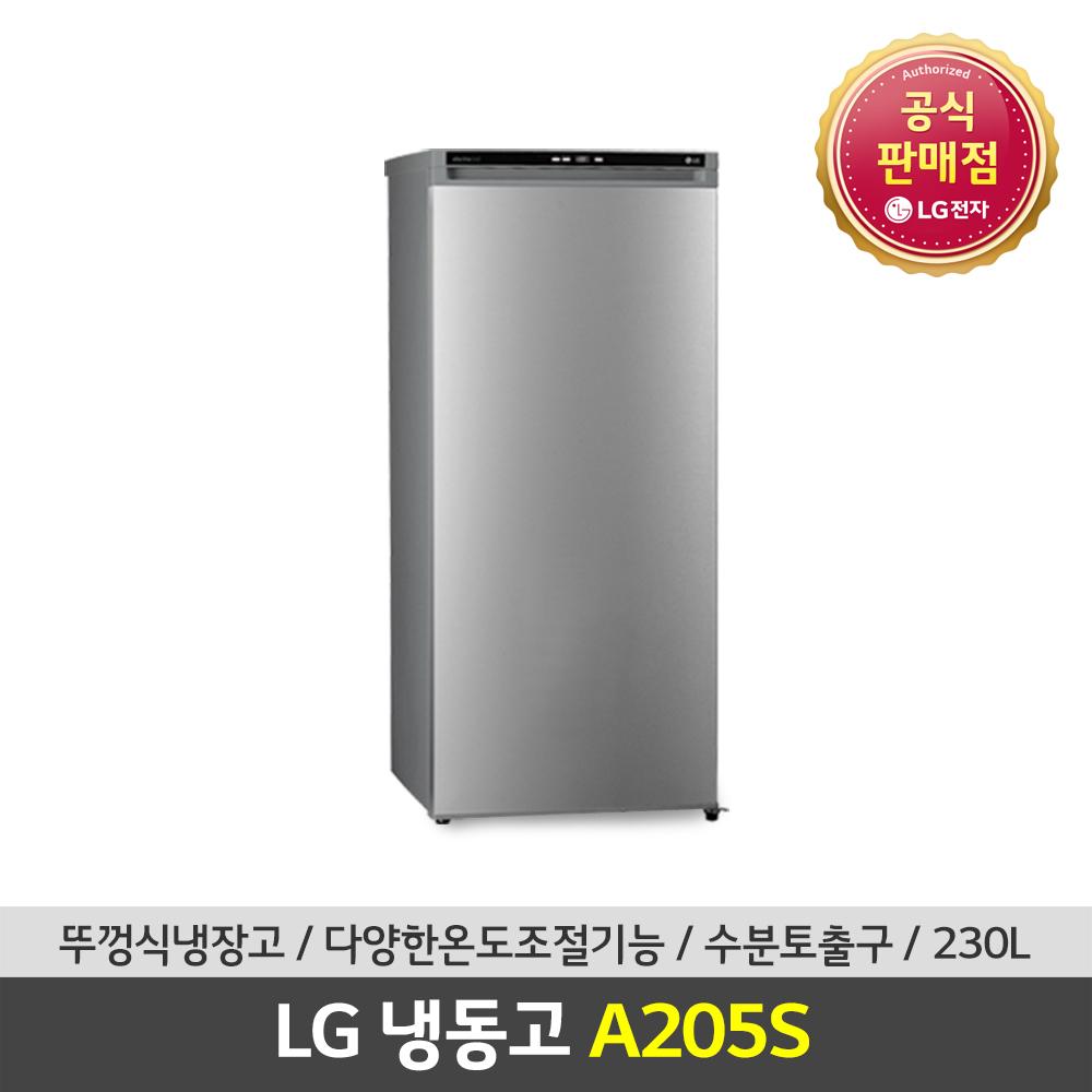 LG전자 공식판매점 (JS) 가정용냉동고 A205S 200L