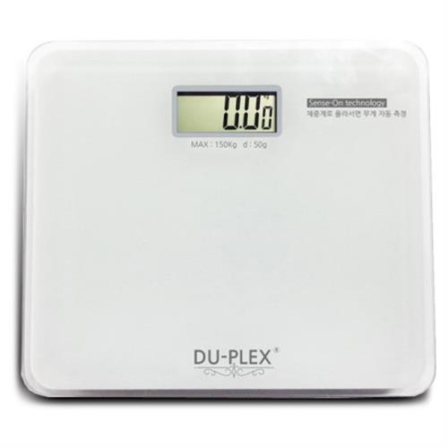 듀플렉스 슬림형 디지털체중계 DP-510BS, 단일상품