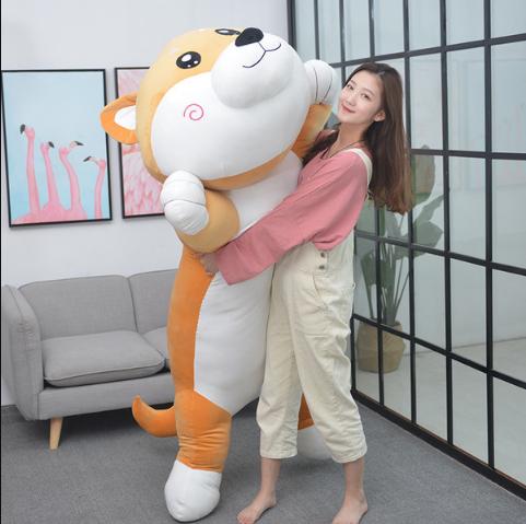 대형 모찌 잠자는 시바견 강아지 인형 최대200cm 5번, 150cm