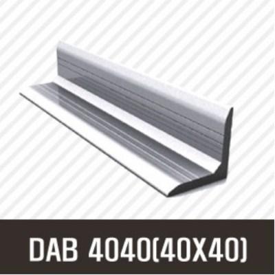 앵글 DAB 4040(40X40) 50mm/ 100mm/ 200mm/ 500mm/ 1000mm/ 1500mm/ 2000mm/앵글/프로파일 부품/ 프로파일/ 알미늄/ 대영, 50mm