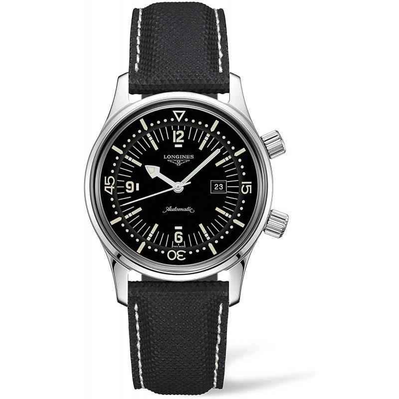 [론진] 시계 론진 레전드 다이버 자동식 문자판 36mm L3.374.4.50.0 여성 정식 수입품