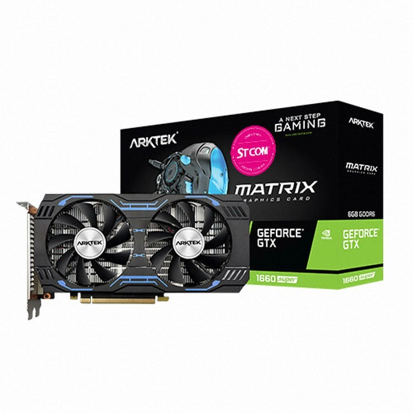 TWO1MALL [ARKTEK] GeForce GTX 1660 SUPER D6 6GB 그래픽카드, 638230