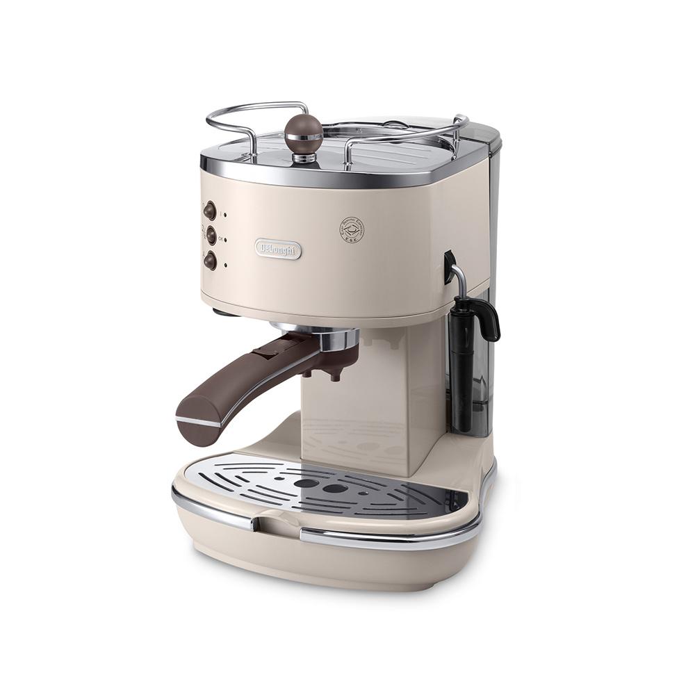 드롱기 아이코나 빈티지 에스프레소 커피머신 DeLonghi ECOV311 관부가세포함 독일직배송, 크림