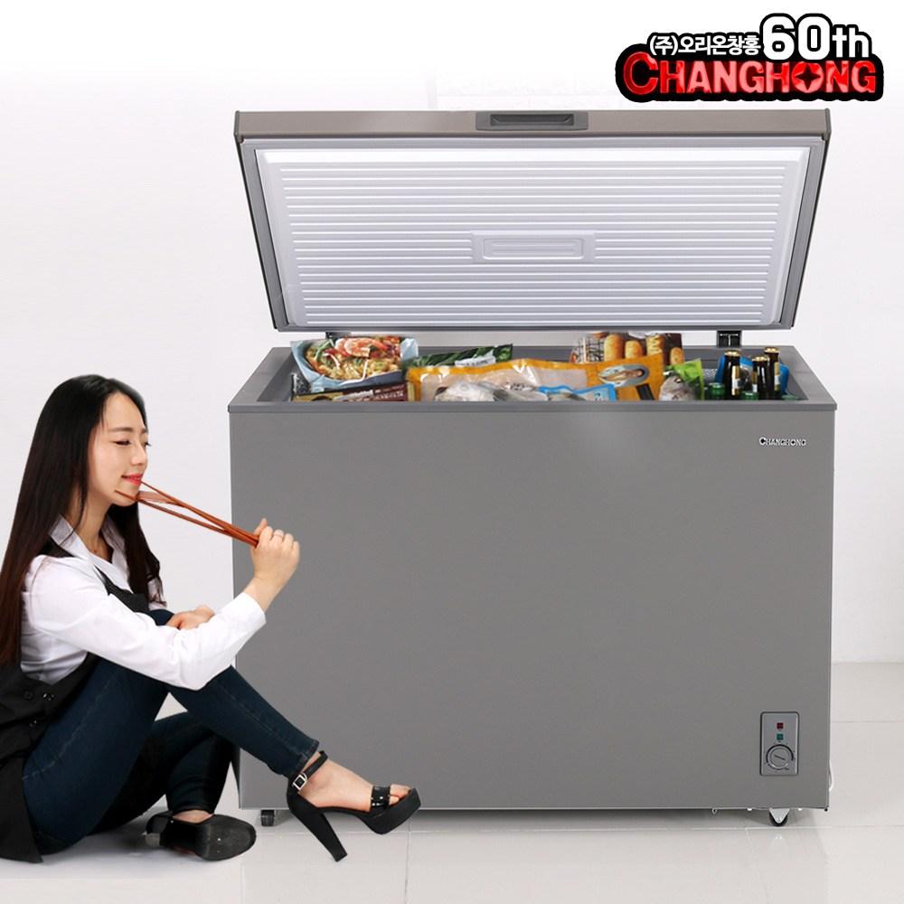 창홍 냉동고 98~291리터 소형 업소용 급속냉각, ORD-200CFS (POP 138552509)