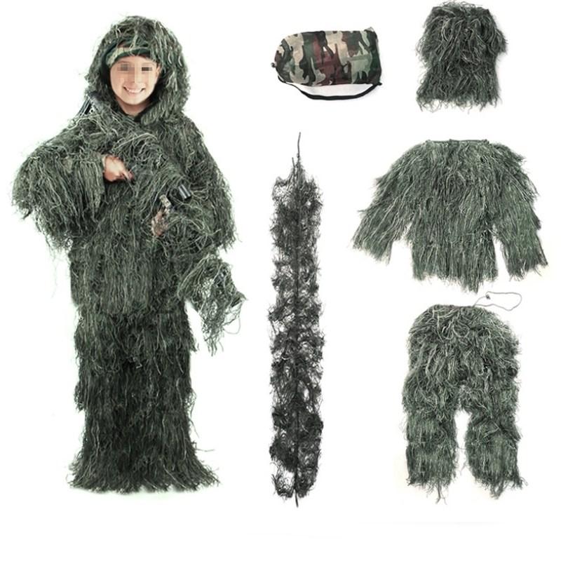 정글 사막 겨울용 길리슈트 위장복 소인용 스나이퍼