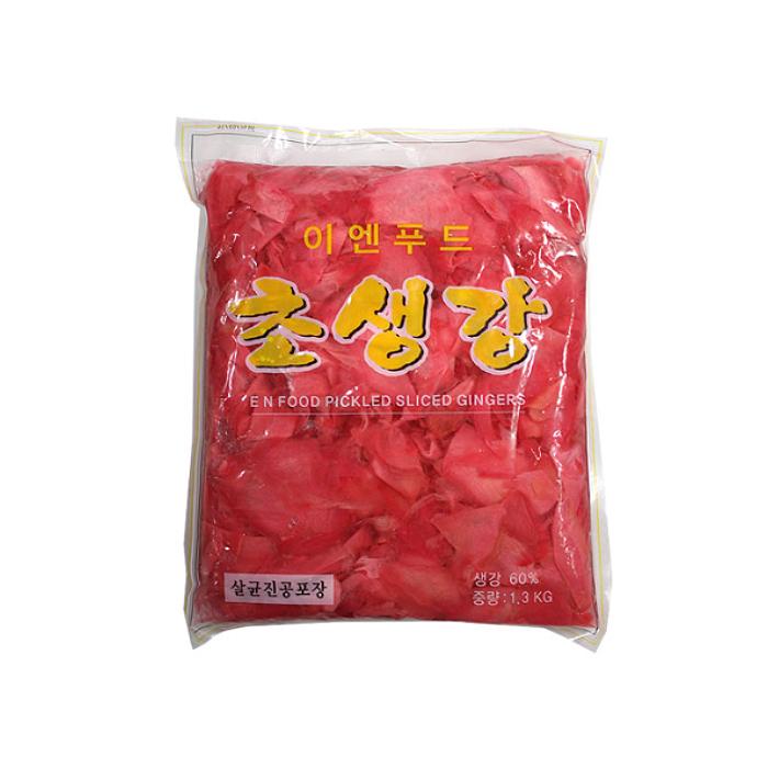 (주)이엔푸드 적초생강 1.3kg, 1봉