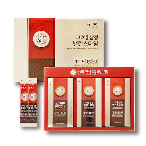풍년보감 고려홍삼정 6년근 밸런스타임 + 쇼핑백, 10g, 30개입