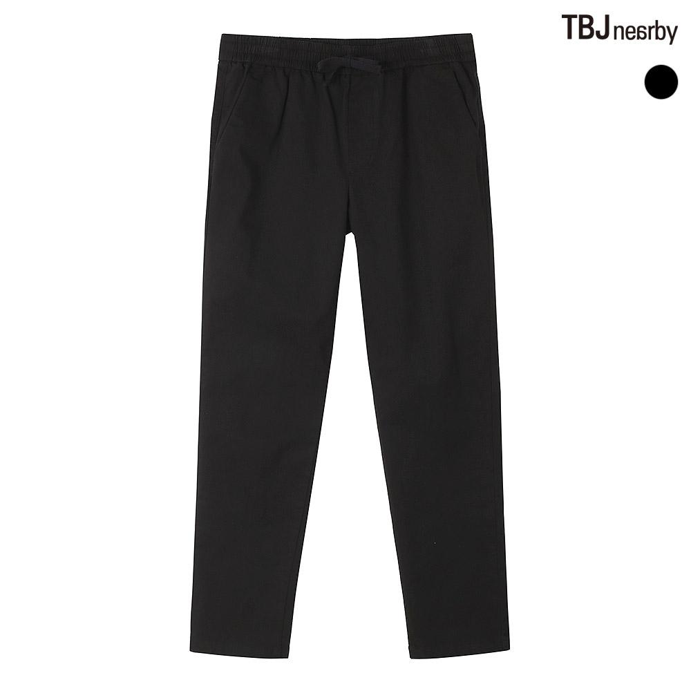 TBJ [특가판매][2020 NEW 신제품 출시 특가할인] 공용 코튼스판 테이퍼드핏 올밴딩 팬츠 [신제품 7% 할인 판매]
