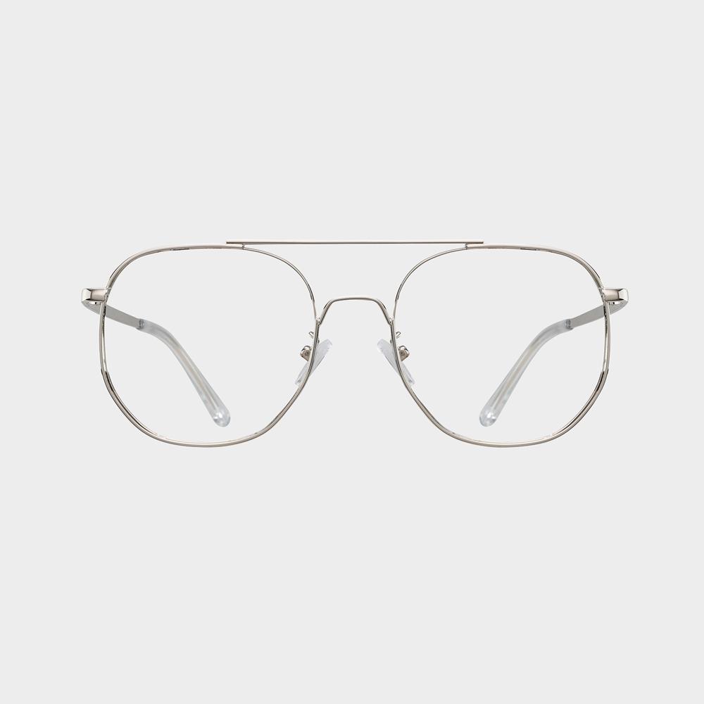 SOL silver 안경테 누진다초점렌즈 원형 국산 걸이