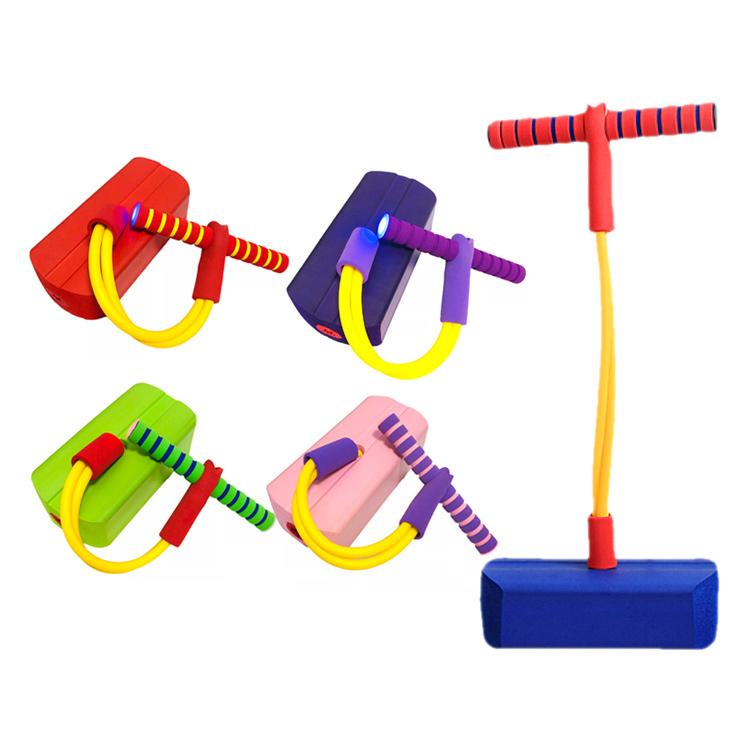 그릿(Grit) 점핑 스카이 스폰지 콩콩 성장판 자극 아동 실내 체육, 퍼플