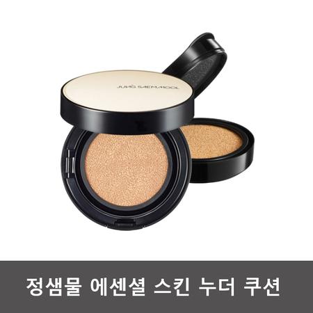 정샘물뷰티 에센셜 스킨 누더 쿠션 14g (본품+리필) - 페어라이트, 상세페이지 참조, 상세페이지 참조