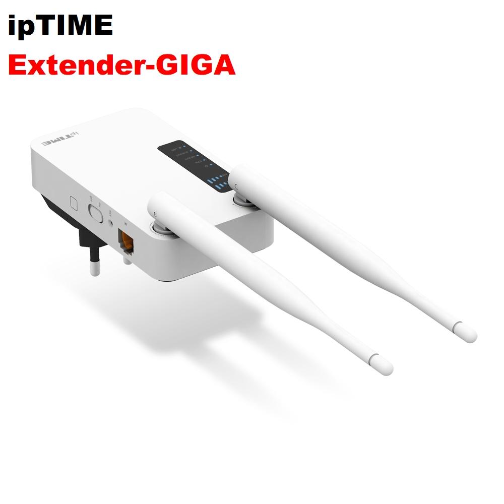 아이피타임 Extender-GIGA 와이파이증폭 확장기 외장안테나