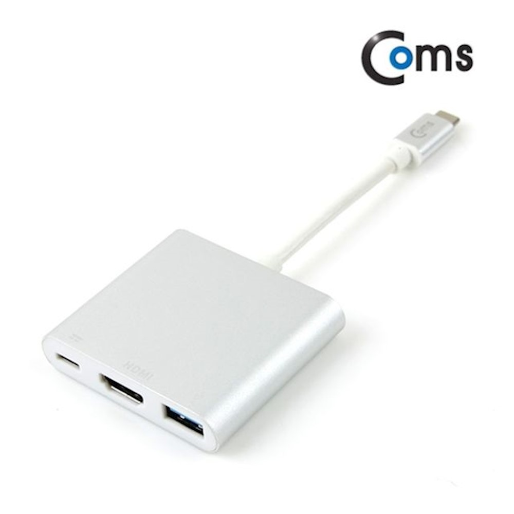 Coms USB3.1 Type C to HDMI 컨버터 USB3.0 F 케이블 tspb, 상세페이지참조()