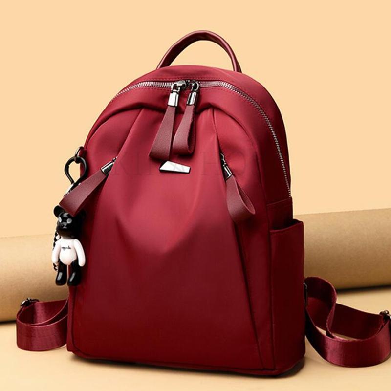 kirahosi 여성 가방 직장인 여성 백팩 가벼운여성백팩 캐주얼백팩 노트북백팩 U 121 +덧신 증정 BDpee3se