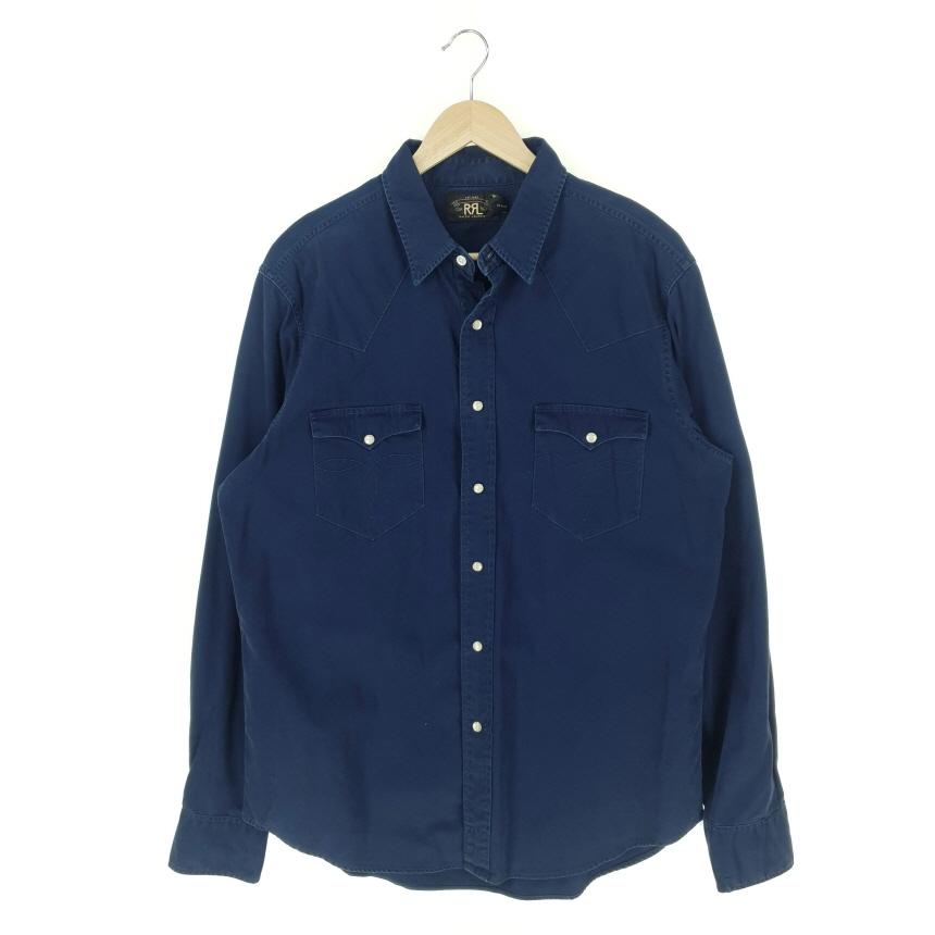 뉴트로빈티지 RRL 더블알엘 포켓 셔츠 (남성 XL)