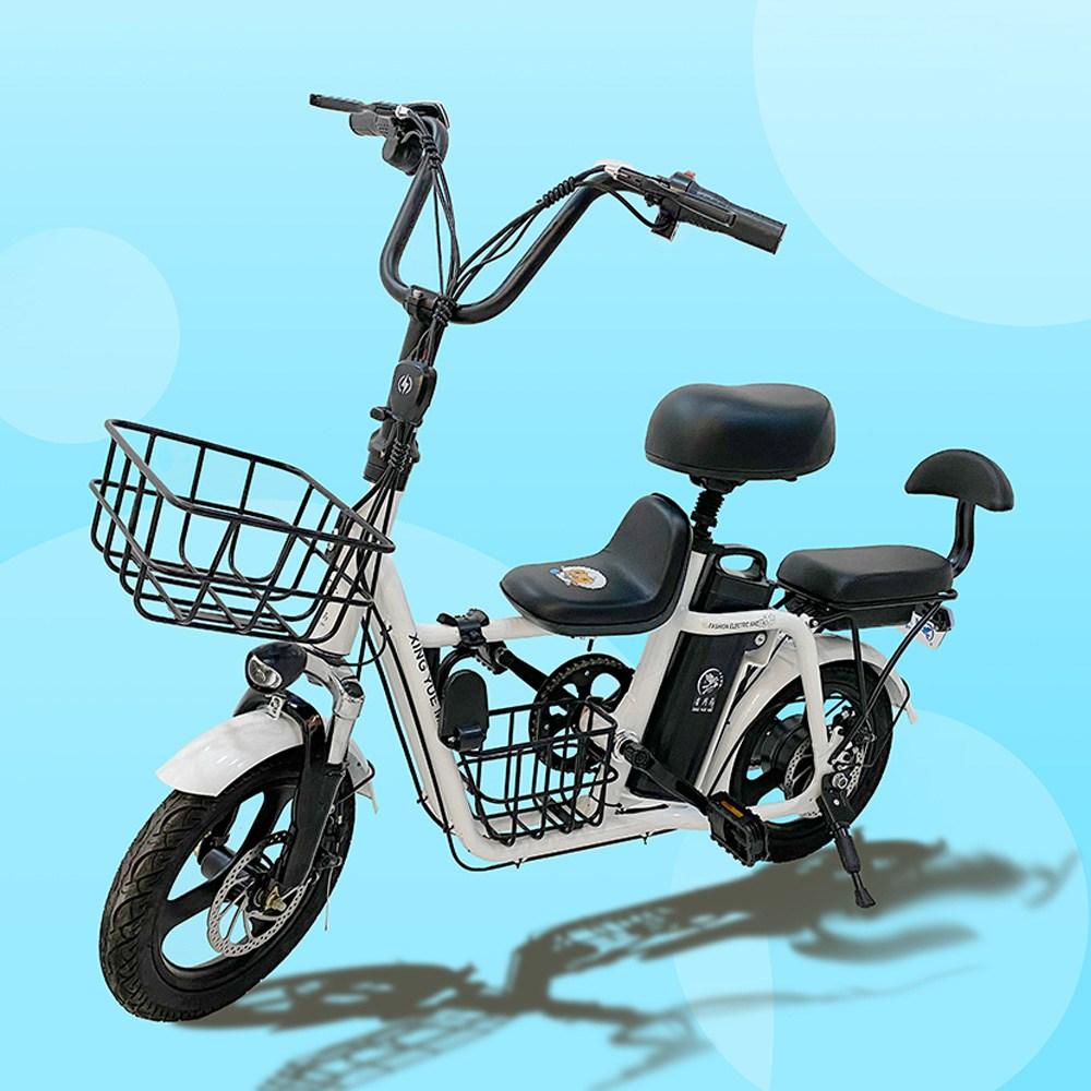 에코라이즈 전기자전거 3인용 전동자전거 10Ah 48v 전동스쿠터 ZS POWER Z3, 블랙