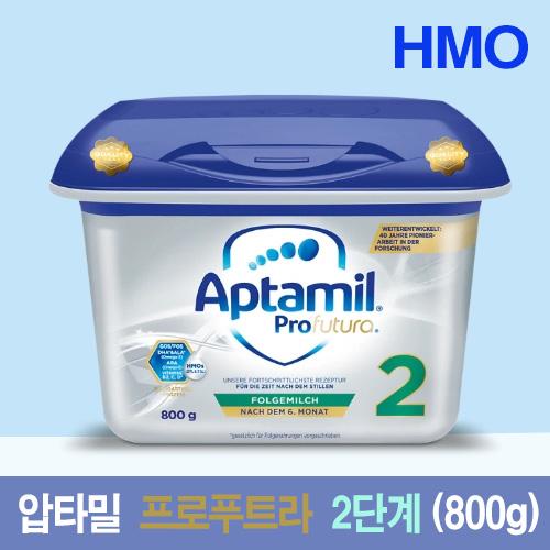 압타밀 HMO 프로푸트라 2단계 분유, 800g, 6통