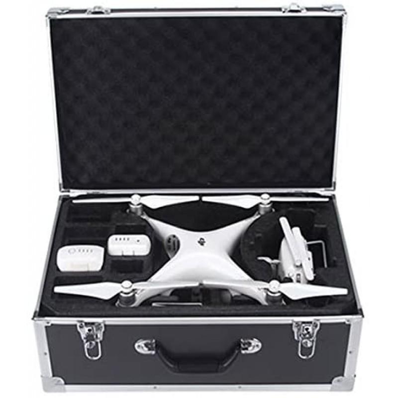 DJI 팬텀 3 스탠다드 / SE / 프로페셔널 / 어드밴스드 / 4K / 팬텀 4 / 팬텀 4 Pro 드론 용 HUL 알루미늄 휴대용 케이스, 단일옵션