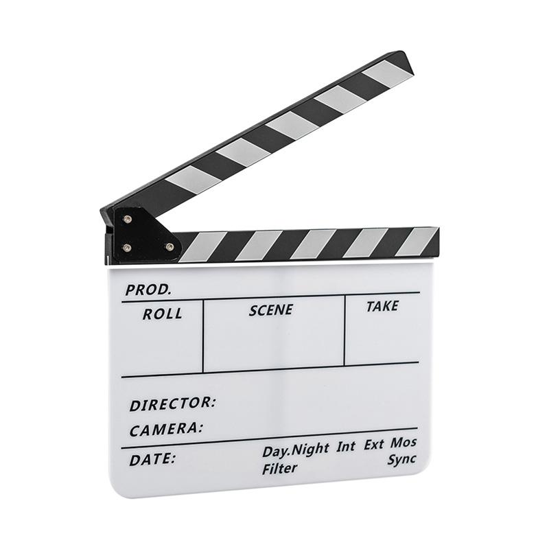 알파믹 유튜브 영화 방송 촬영용 슬레이트 클래퍼 보드  화이트어가네닷컴 영화 드로잉 패브릭 포스터  레옹(PW02)미소아이 못