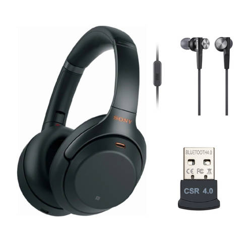 Sony Sony WH-1000XM3 Wireless Noise-Canceling Over-Ear Headphones (Bla, 상세내용참조