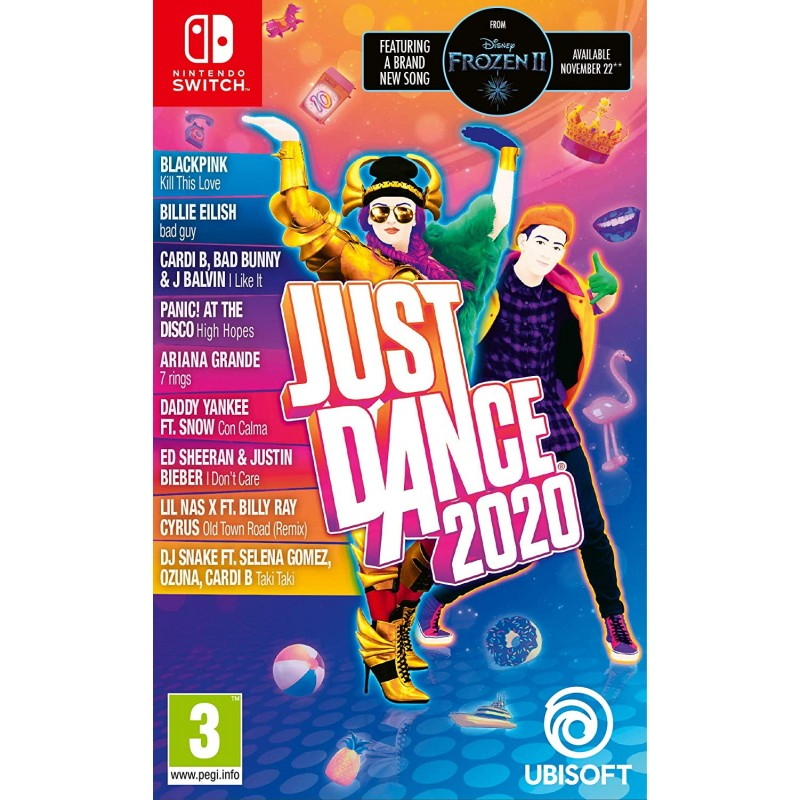 Just Dance 2020 (닌텐도 스위치) (국제판), 단일상품