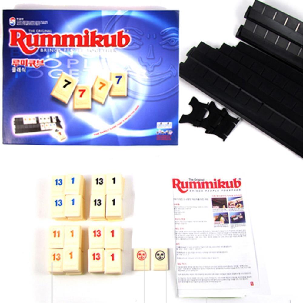 루미큐브 숫자계산 이스라엘 보드게임 가족놀이 전략게임