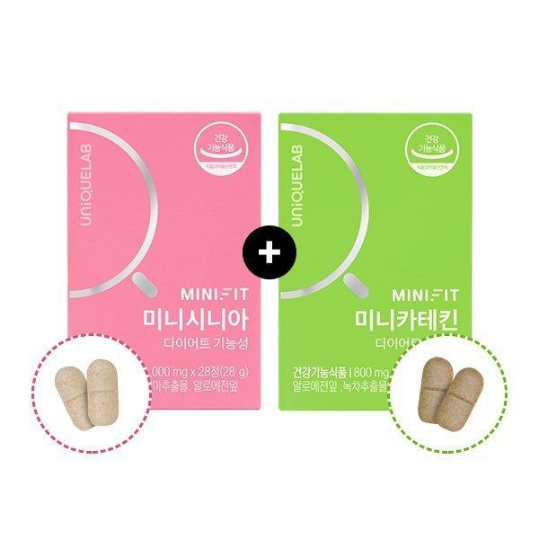 효과좋은 다이어트보조제 유니크랩 미니핏 다이어트 세트 다이어트식품, 1개 / 단품 특가