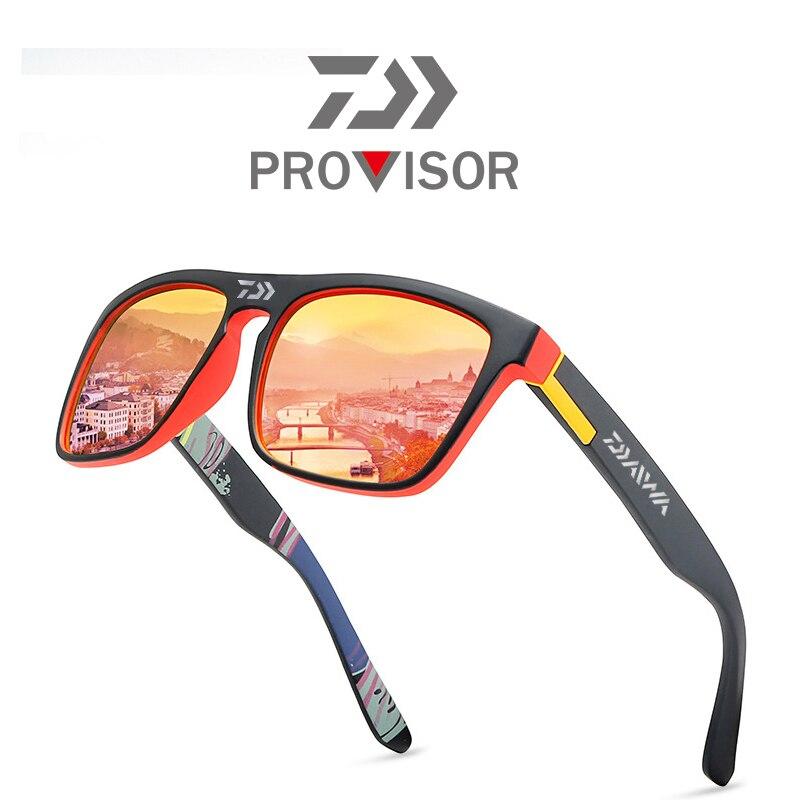 직구 2020 Daiwa New 남성용 편광 안경 낚시 여름 야외 등산 세련된 다채로운 필름 스포츠 선글라스
