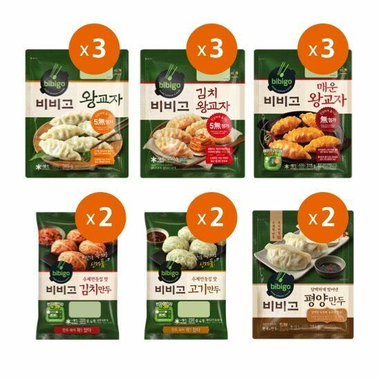 비비고 만두 6종 15봉 0609, 단품