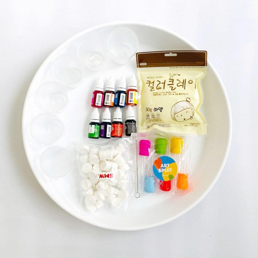[SMW] 식용색소 스포이드 미술놀이 세트 - 엄마표