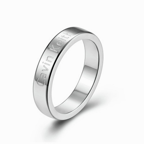 CK 작은 반지 티타늄 스틸 라든지 남녀 커플 발렌타인 데이 선물 간단한 일반 꼬리