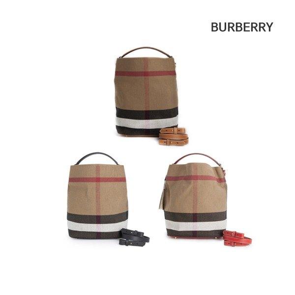 [버버리] BURBERRY 애쉬비 캔버스 투웨이 호보백 (3945726 1/3945742-1-4882775508