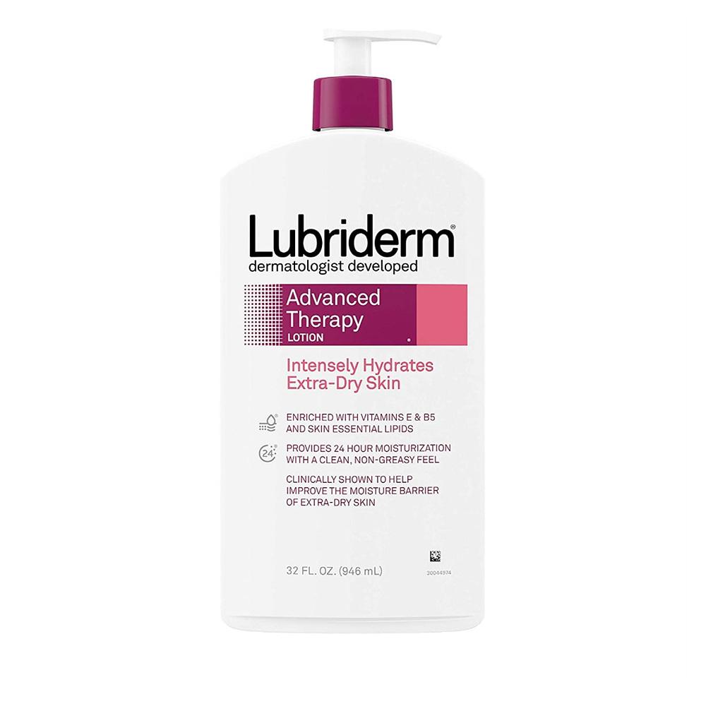 (번들) 루브리덤 어드밴스드 테라피 로션 극건성용 946ml 2개 Lubriderm Advanced Therapy Lotion
