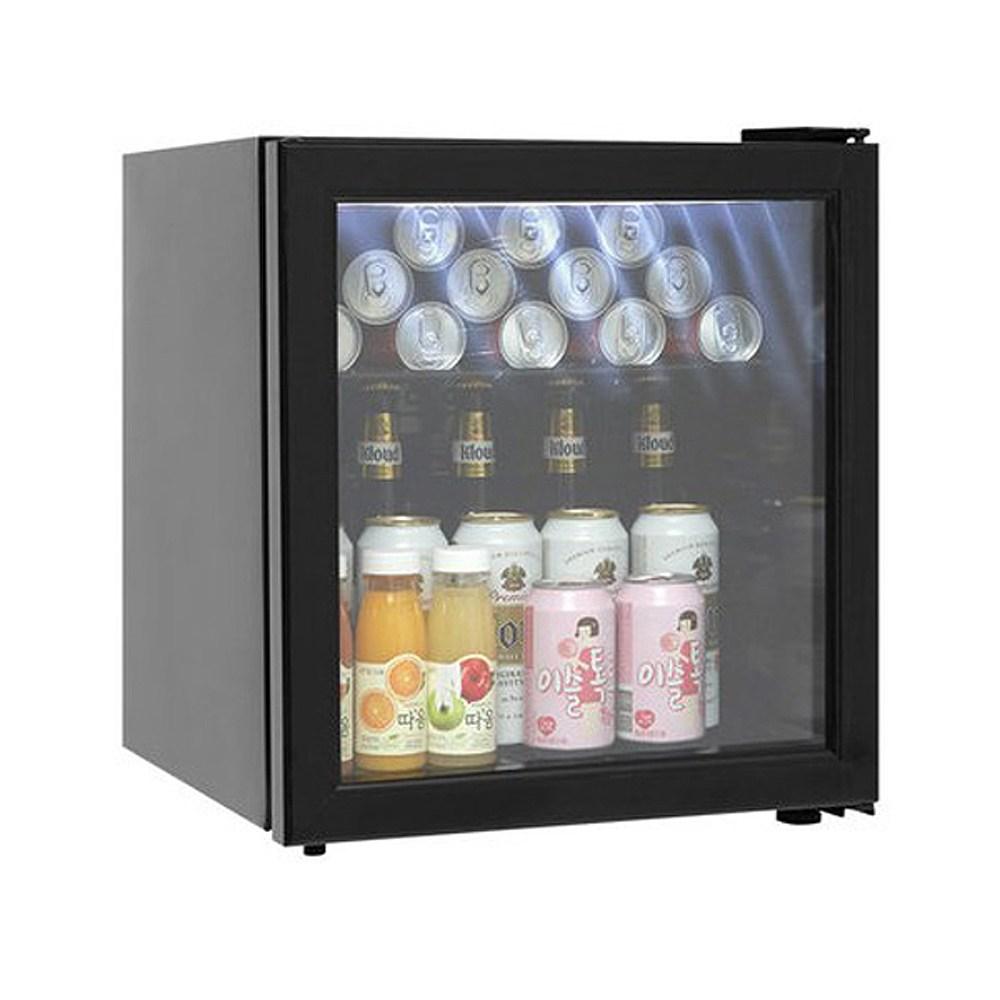 씽씽코리아 미니냉장고 음료냉장고 LSC-60 LSC-92 LSC-92(LED) 음료쇼케이스, LSC-60(블랙)LED (POP 2002314921)