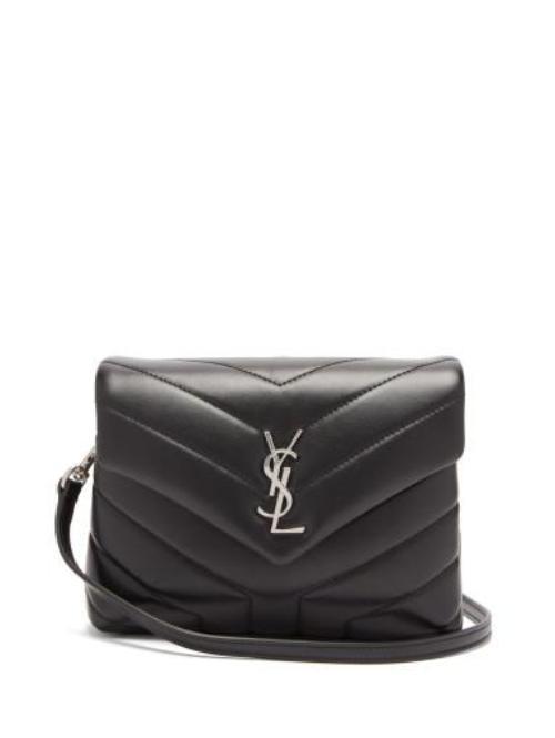 입생로랑 [SAINT LAURENT] YSL 룰루 미니 가죽 크로스 백 화이트 블랙 디자이너 브랜드 로고 명품 (관부가세포함)