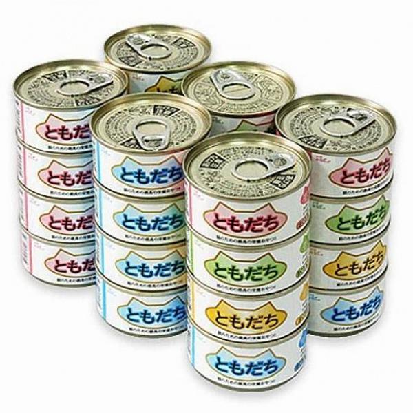 베이비윙 도모다찌 콤보 24캔 고양이 간식캔, 1