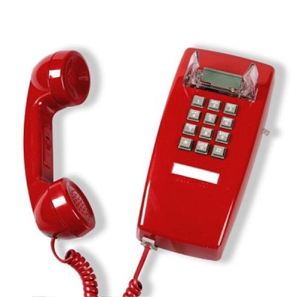 [핫트랙스] 원더스토어 [코텔코] Made in USA 코텔코 빈티지 벽걸이 유선전화기 레드, 모델명/품번