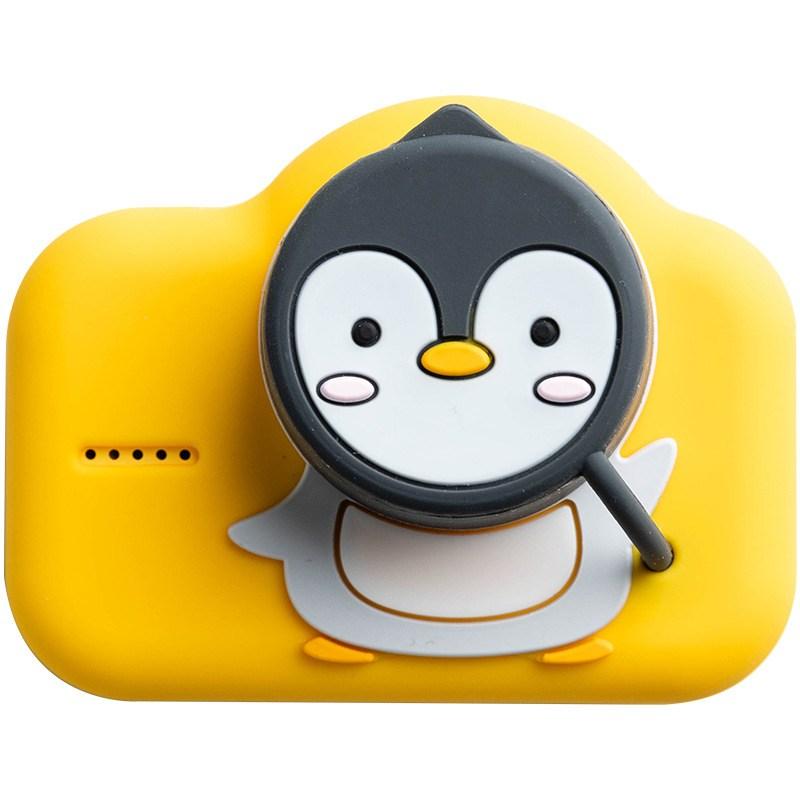 Qita 키즈카메라 어린이 유아용 아이용 카메라 어린이디카 디지털카메라, 파랑색16G