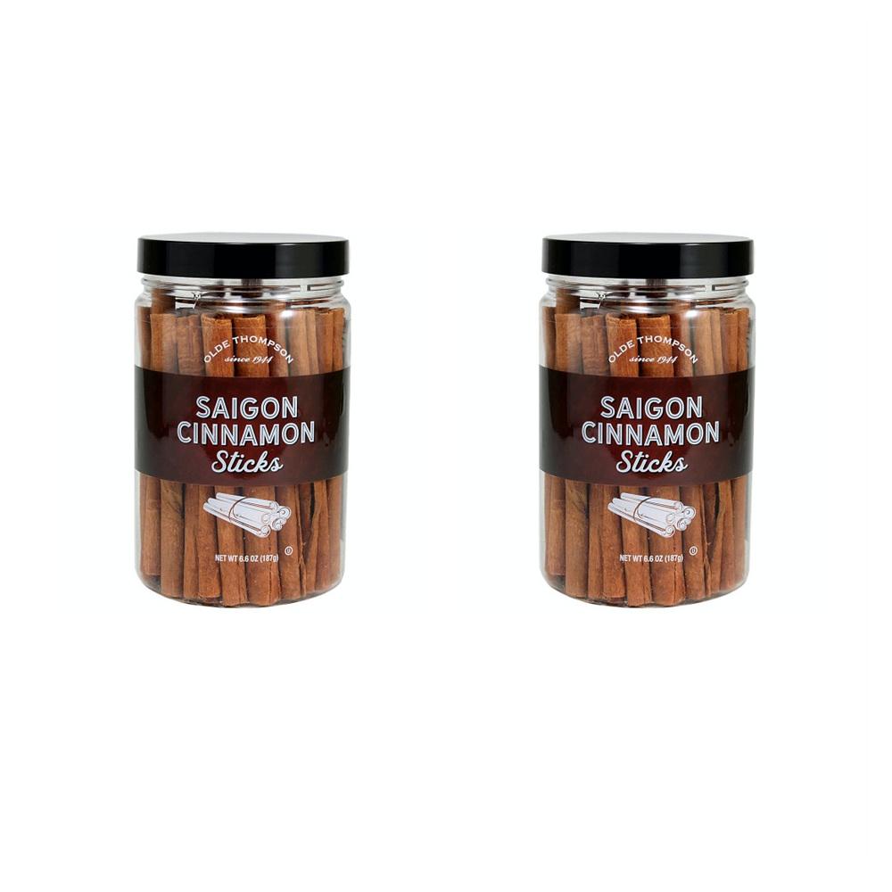 Olde Thompson Saigon Cinnamon Sticks 올데 톰슨 사이공 시나몬 스틱 6.6Ounce(187g) 4팩