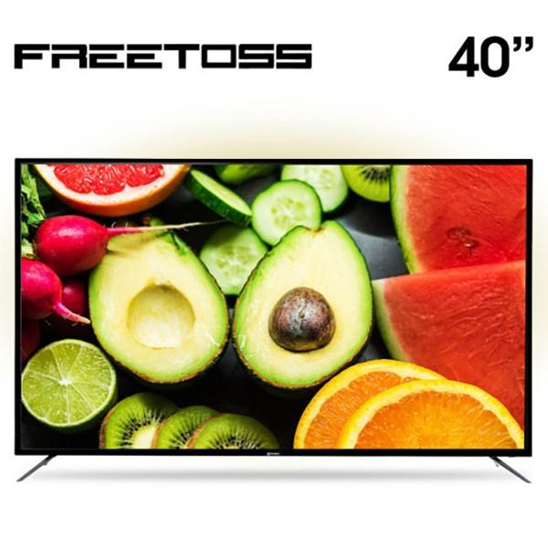 프리토스 40인치 FHD TV FT400SHD LG 삼성 BOE 패널 초고화질 중소기업TV, 기본, 기본 스탠드형(기사설치)