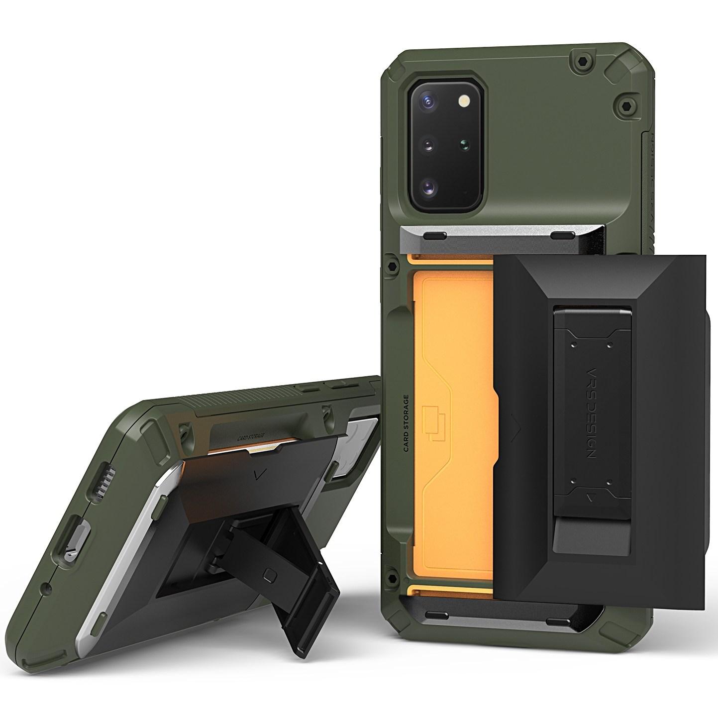 베루스 담다글라이드 하이브리드 반자동 카드수납 거치대 핸드폰 케이스