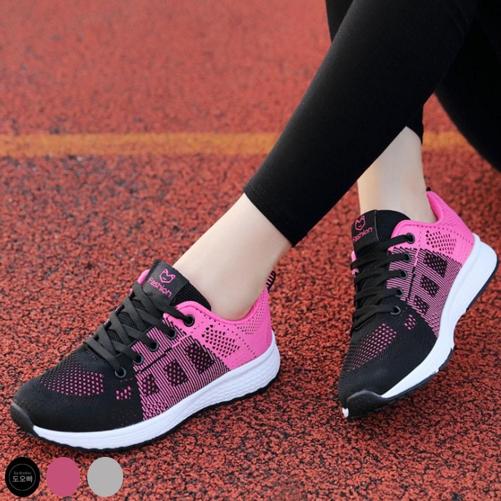 도오빠 여성 운동화 메쉬 런닝화 가벼운 신발 여자운동화