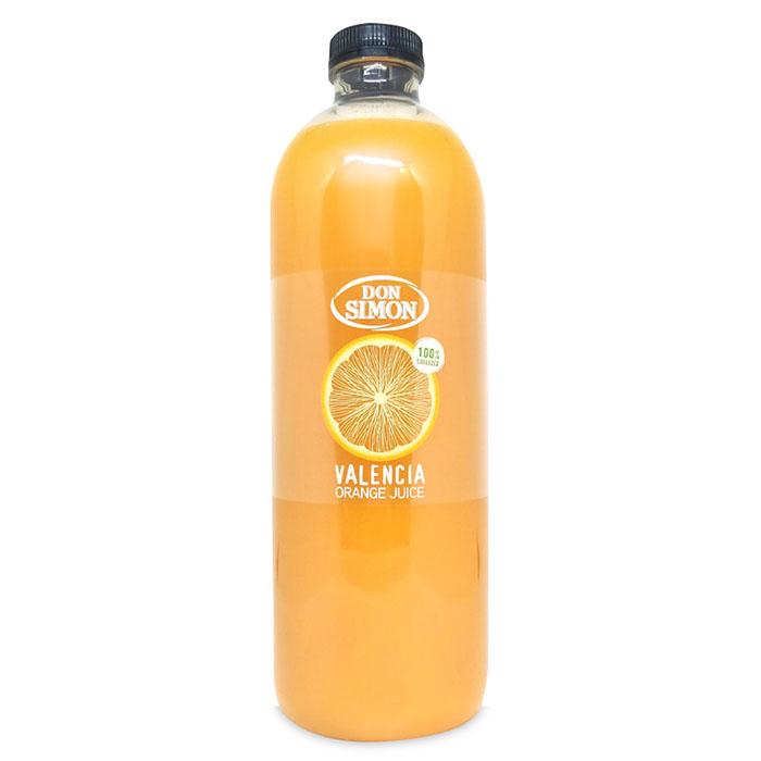 돈 시몬 발렌시아 오렌지주스 100% 돈시몬 오렌지 주스, 1개, 1L