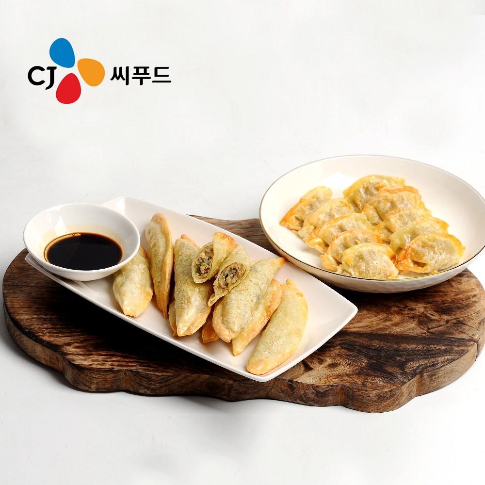 CJ 씨푸드 맛있는 교자만두 /군만두, 교자만두 1.35kg