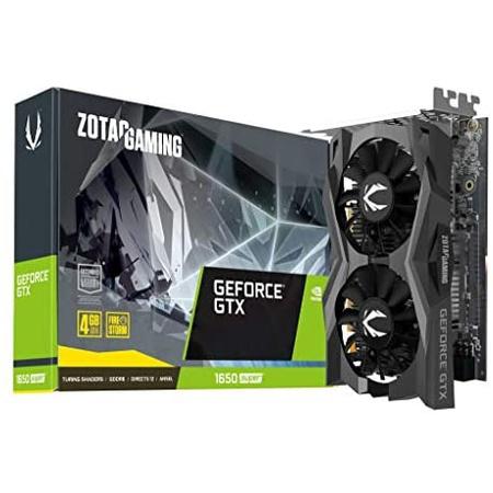 해외550022789 그래픽카드 ZOTAC Gaming GeForce GTX 1650 Super Twin Fan 4GB GDDR6 128-Bit Gaming Grap, 상세 설명 참조0