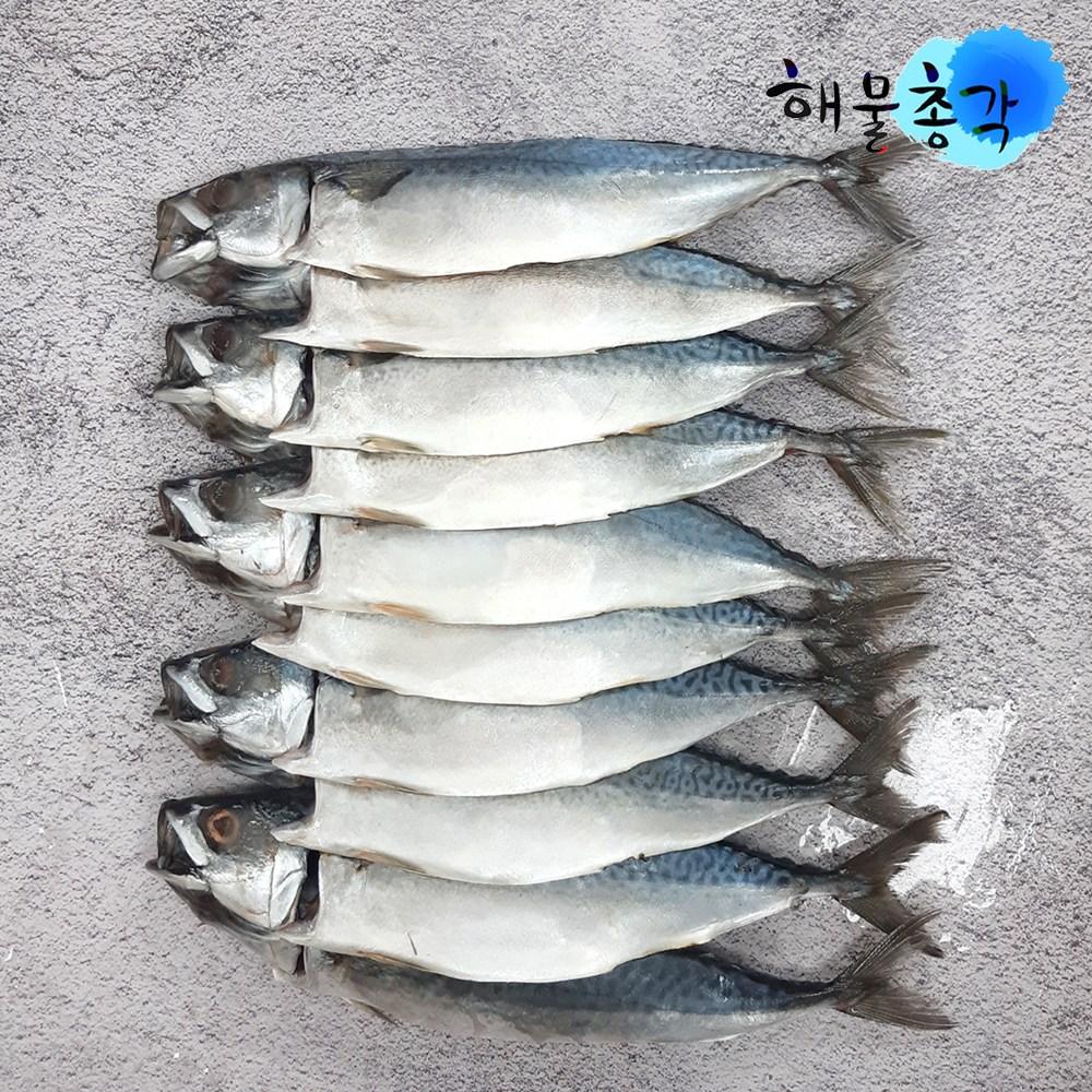 해물총각 간고등어 10마리 국내산 손질 자반고등어, 2.1kg