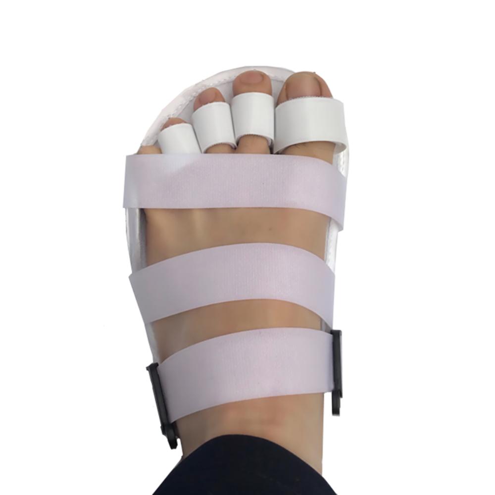 깁스신발 발가락 반깁스 기브스 발가락고정 보호 신발, 오른발