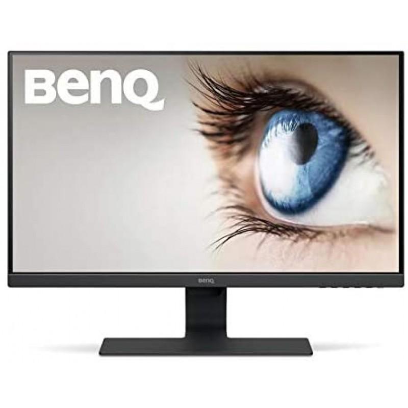 BenQ GW2780 27 인치 1080p 아이 케어 LED IPS 모니터 눈부심 방지 HDMI B.I. 재택 센서-검정, 단일상품