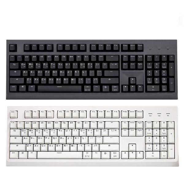 한성컴퓨터 GTune GK787 OfficeMaster PBT 체리 키보드 화이트 (기계식 저소음적축), 선택하세요
